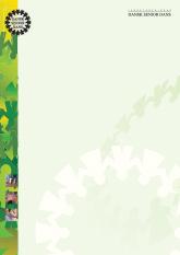 Download word-dokument. Brevpapir med forårsfarver