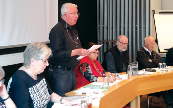 Referat af beretningen på generalforsamlingen i Ringsted