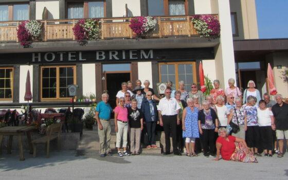 Seniordansere på tur til Tyrol